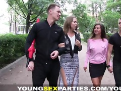 young sex parties - girlfriends drilled like sluts