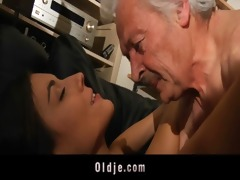 grandpapa fucking horny young sweety