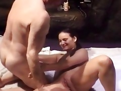 young czech girl and old chap fuck