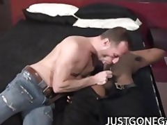 darksome hawk - big darksome cock pounding on
