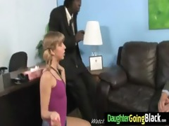 youthful daughter with wonderful ass fucked by a