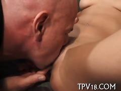 lad drills sex appeal gal
