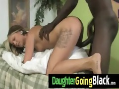 trespassing teen acquires interracial 7