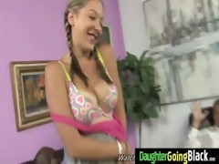 taut young legal age teenager takes large