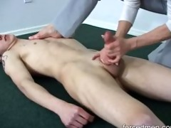 oldie mistress is able to extract young mans cum