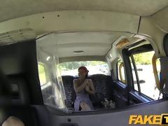 faketaxi dick loving passenger sucks off taxi chap