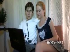 teen copulates with stranger