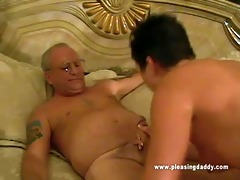 darksome haired slut maxxx suck old knob