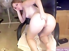 blonde college girl marie masturbates