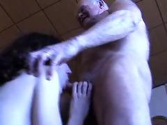 granddad gets a blowjob
