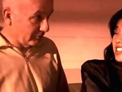 oriental slut takes old man