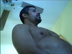 this mature stud loves sniffing a young gals