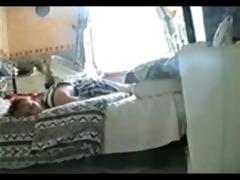 hidden cam catches my sister rubbing snatch