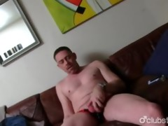 sexy straight dad tucker masturbating