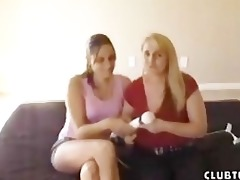 stepmom wants to train her daughter how to jerk