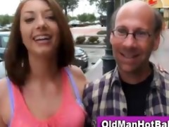 hawt babe gia love sucks old guy