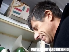 cute young hotty fucks an old lad