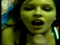 gorgeous teen sister engulf penis