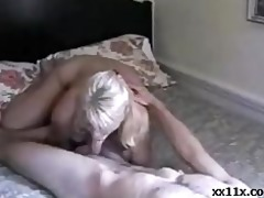 mother knows how to ride her step son
