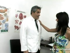 juvenile bitch fuck horny old doctor