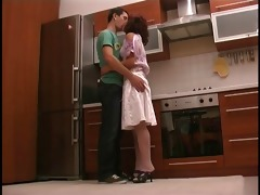 young and petite russian dilettante homemade anal