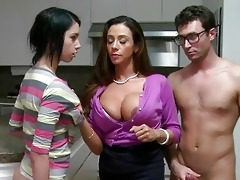 ariella fucks her step daughter n her bf