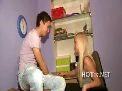 nice bang with teen gal