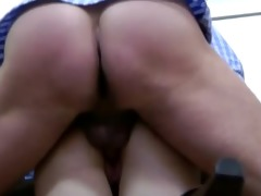 old chap younger fuck cook jerking and cumshot