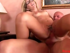 tattooed tabitha swallows a big load!