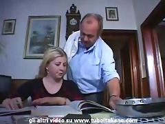 italian incest blonde teen fucked by dad