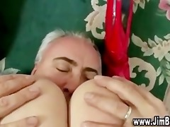 red stockings younger cutie fucking