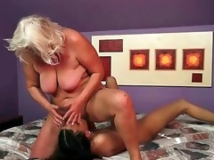 young beauty likes old bitch