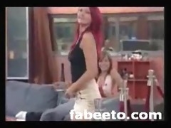 2008 german big brother striptease live on tv