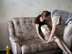 skinny teen drilled