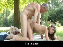 oldman fucks nasty slender blond legal age