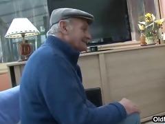 euro grandpa joins hardcore fun