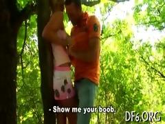 cute virgin gets nude