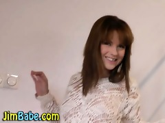 legal age teenager babe and aged chap engulf and